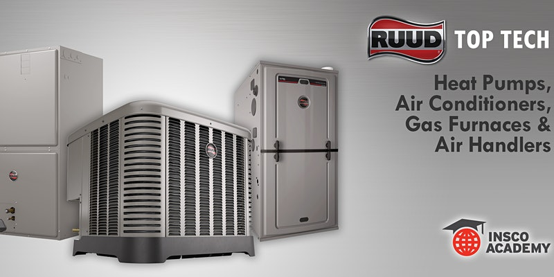 Ruud Top Tech: Heat Pumps, Air Conditioners, Gas Furnaces & Air Handlers