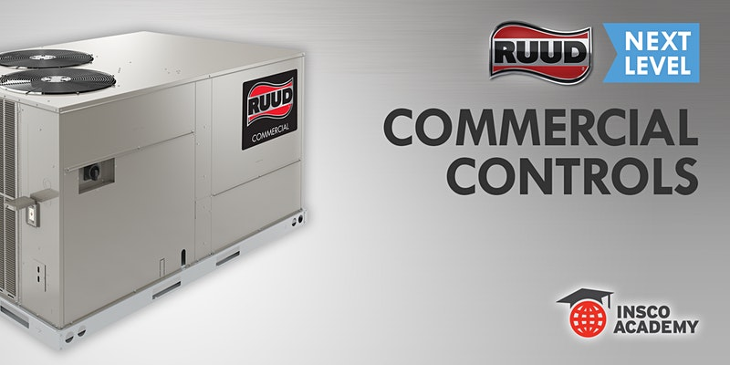 Ruud Next Level: Commercial Controls