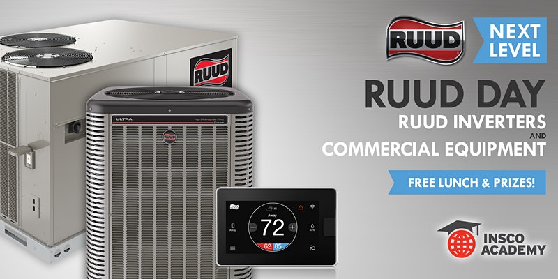 Ruud Day: Ruud Inverters & Commercial Equipment