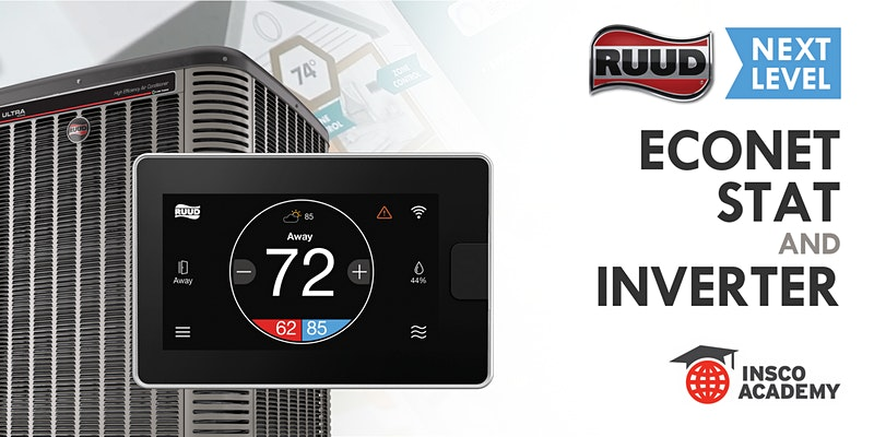 Ruud Next Level EcoNet Stat and Inverter